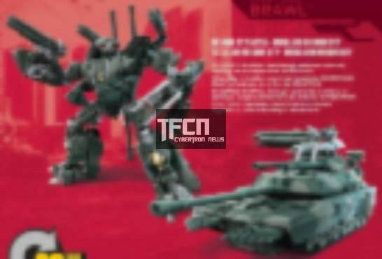 Transformers News: New Movie Brawl and Megatron Figures Leaked Online