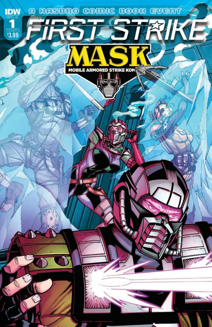Transformers News: Full preview for IDW M.A.S.K. First Strike #1  #HasbroFirstStrike