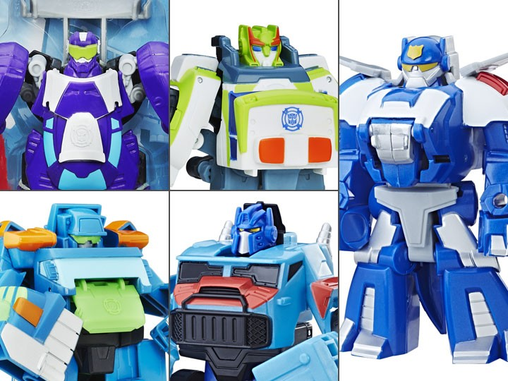 Transformers News: Rescue Bots Rescan Wave 9 Figures Sighted at Retail