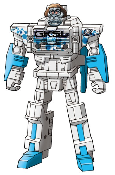 Transformers News: Upcoming Titan Master Cerebros/Fortress Retool Made to Resemble Japanese Comedy Duo
