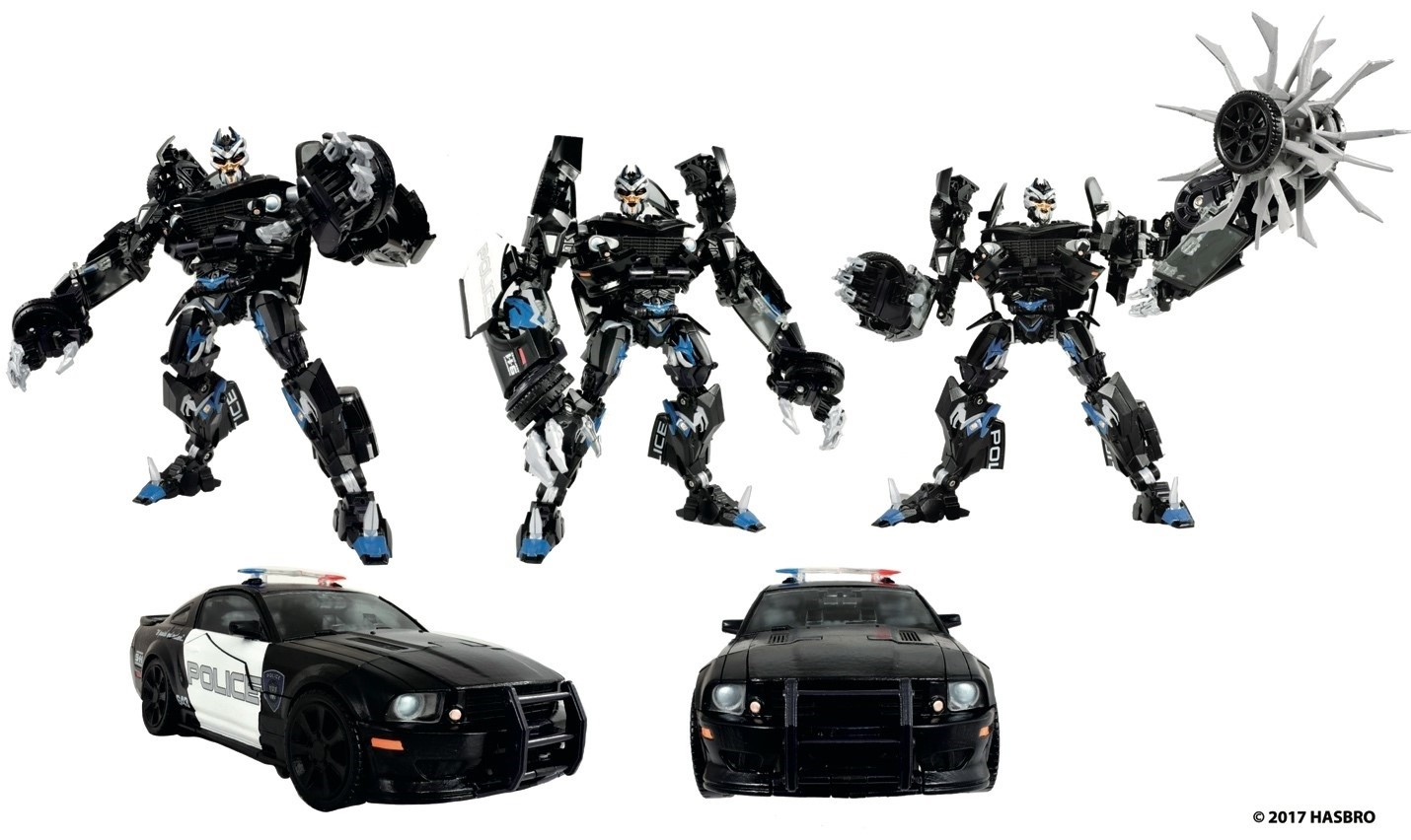 Transformers Masterpiece MPM-5 Barricade Officially Revealed