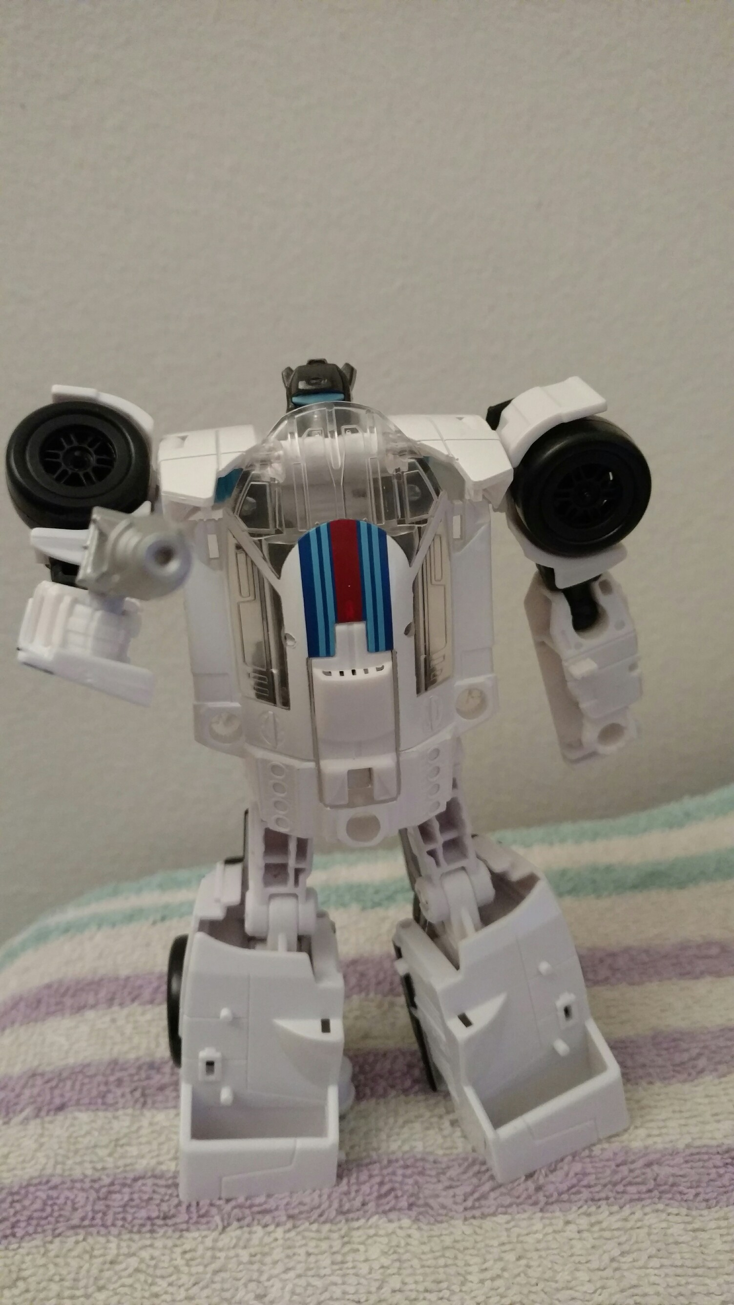 Transformers News: In Hand Images of Deluxe Autobot Jazz from Transformers Power of the Primes