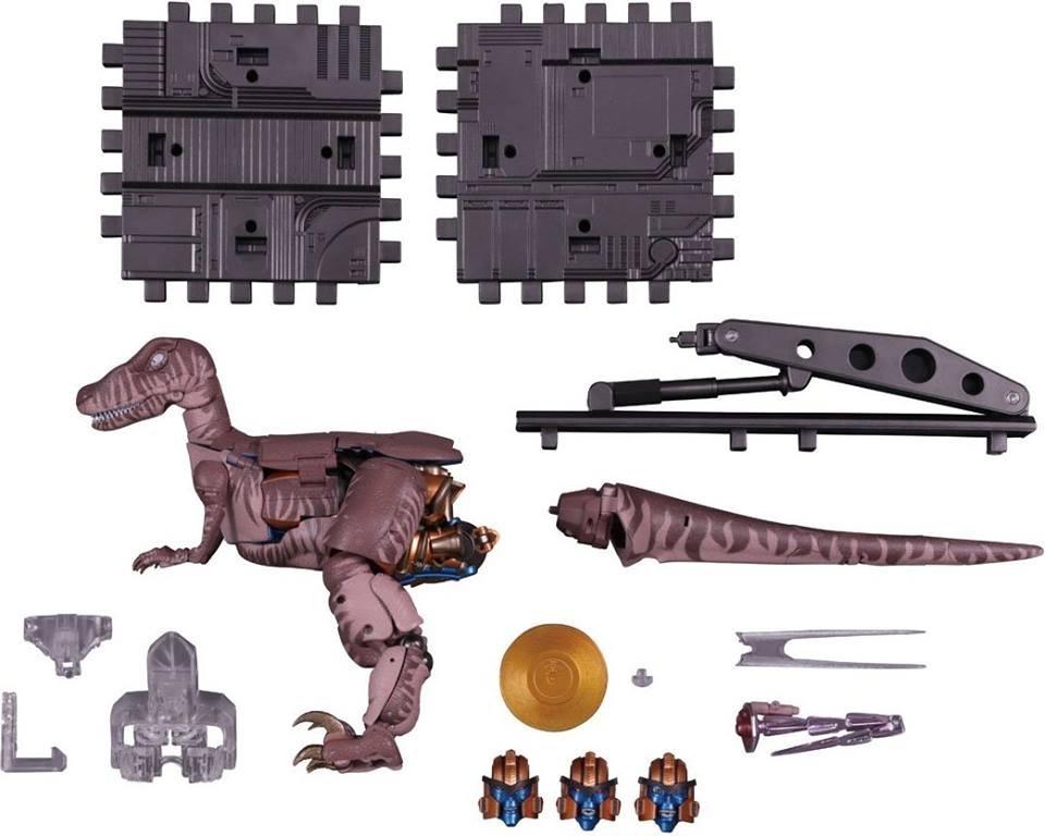 Transformers News: Takara Tomy Transformers Masterpiece MP 41 Dinobot Fully Revealed