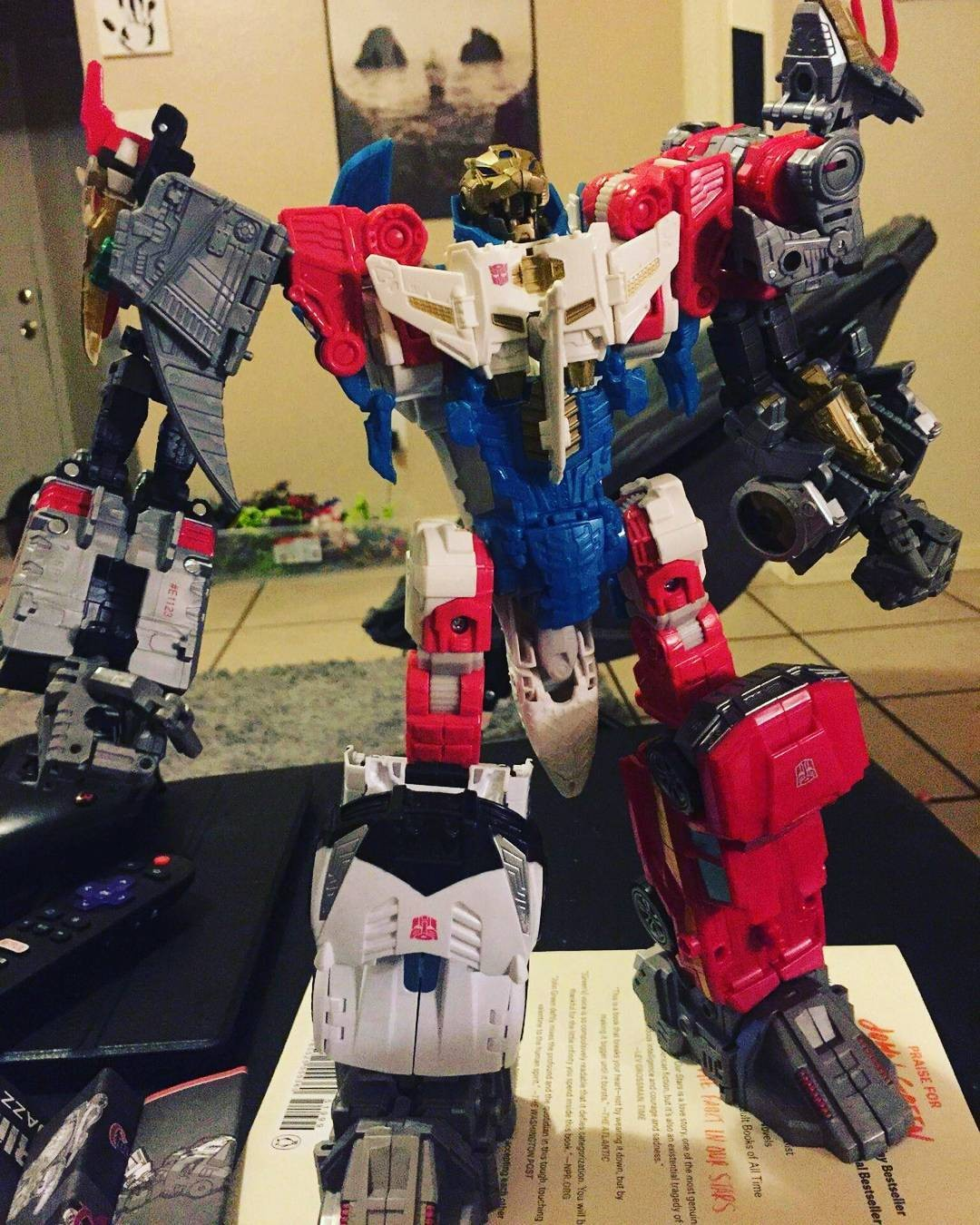 Transformers News: More In-Hand Images of Transformers Power of the Primes Wave 1 Deluxes: Slug, Swoop, Dreadwind