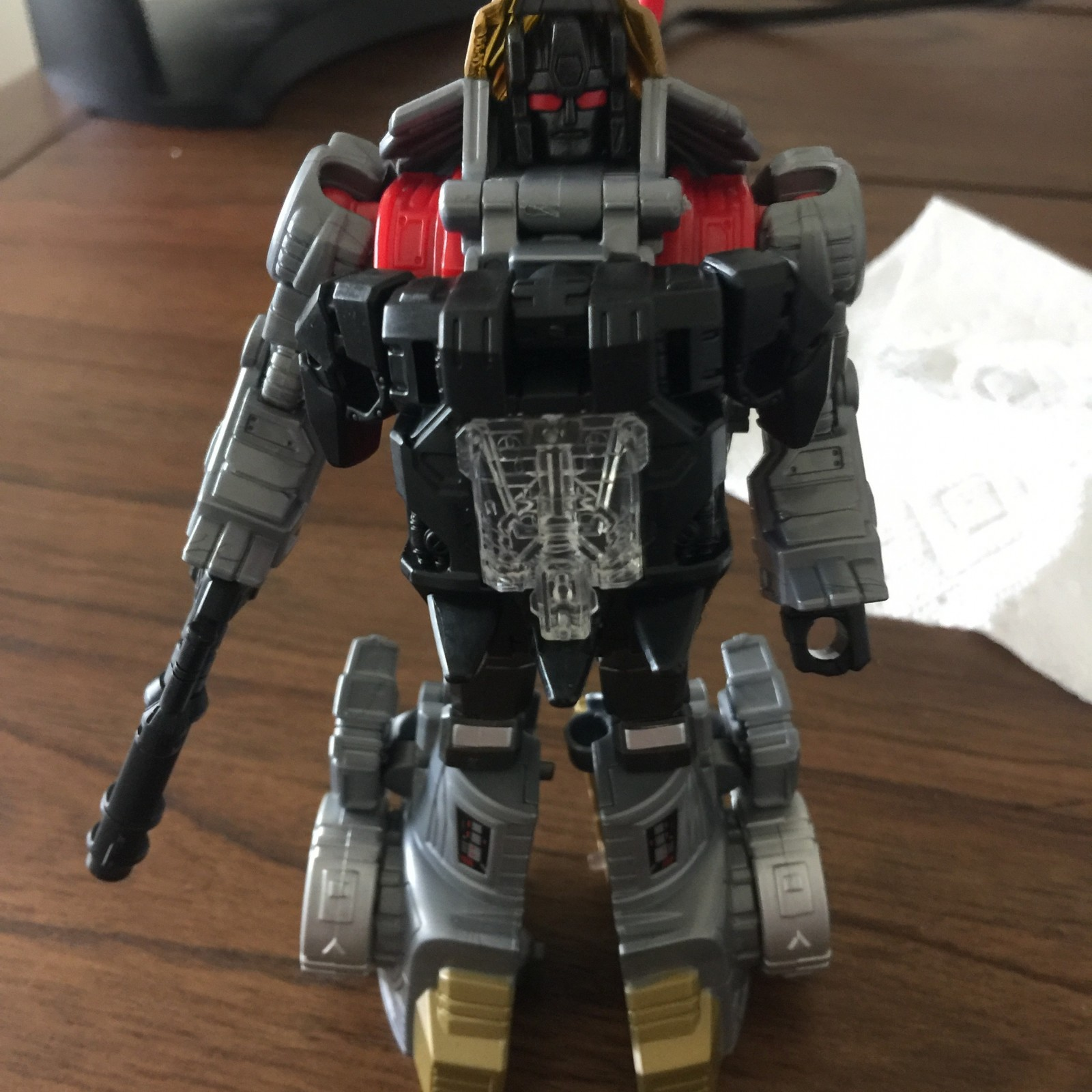 Transformers News: More In Hand Images of Transformers Power of the Primes Swoop and Slug Showing Combined Modes