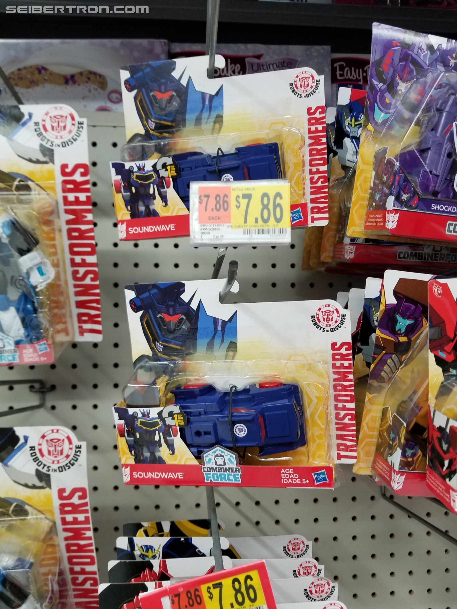 Transformers News: One Step Soundwave from Transformers: Robots in Disguise Found at US and Canadian Walmart Stores