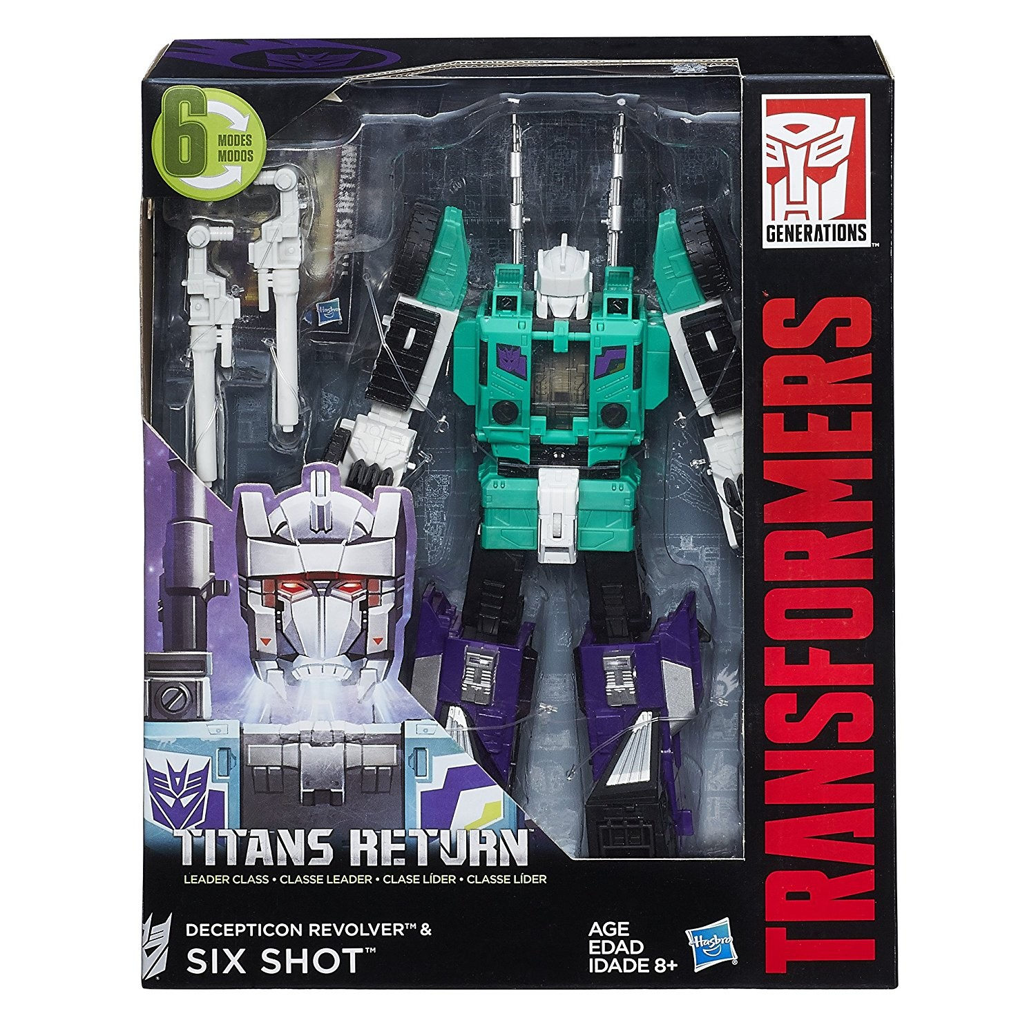 Transformers News: Amazon Sale on Titans Return Sixshot