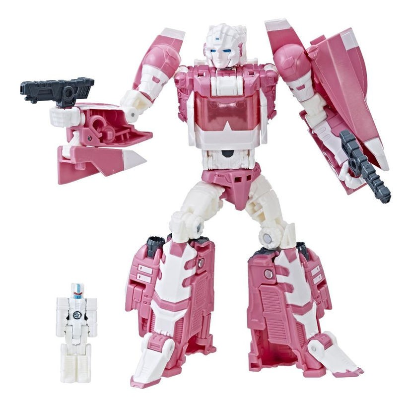 Transformers News: Transformers Titans Return Arcee Back In Stock on TRU.com