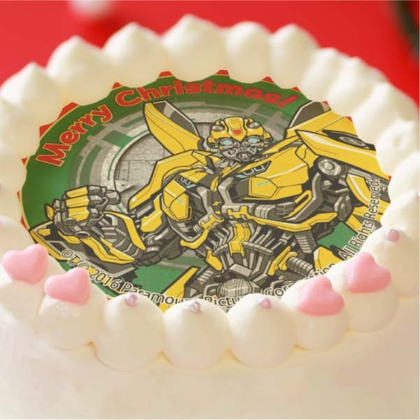 Transformers News: Transformers Featured on Priroll's 2017 Christmas Cakes