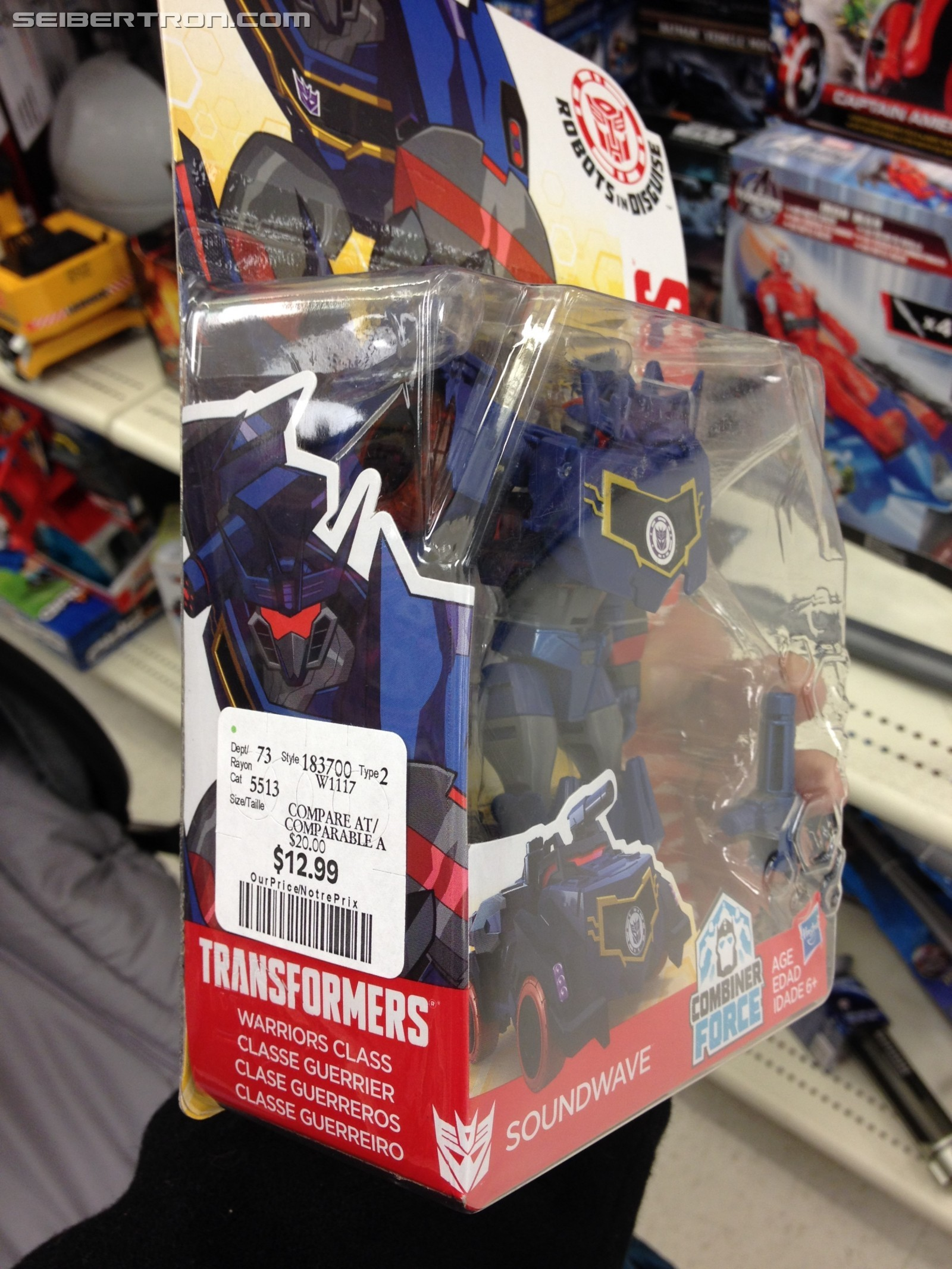 Transformers News: New Canadian Transformers Sightings including Holiday Restock at Winners and Fidget Its at Dollarama