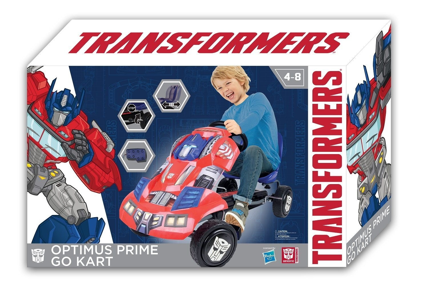 Transformers News: Transformers G1 Themed Go-Karts Discounted on Amazon.com!