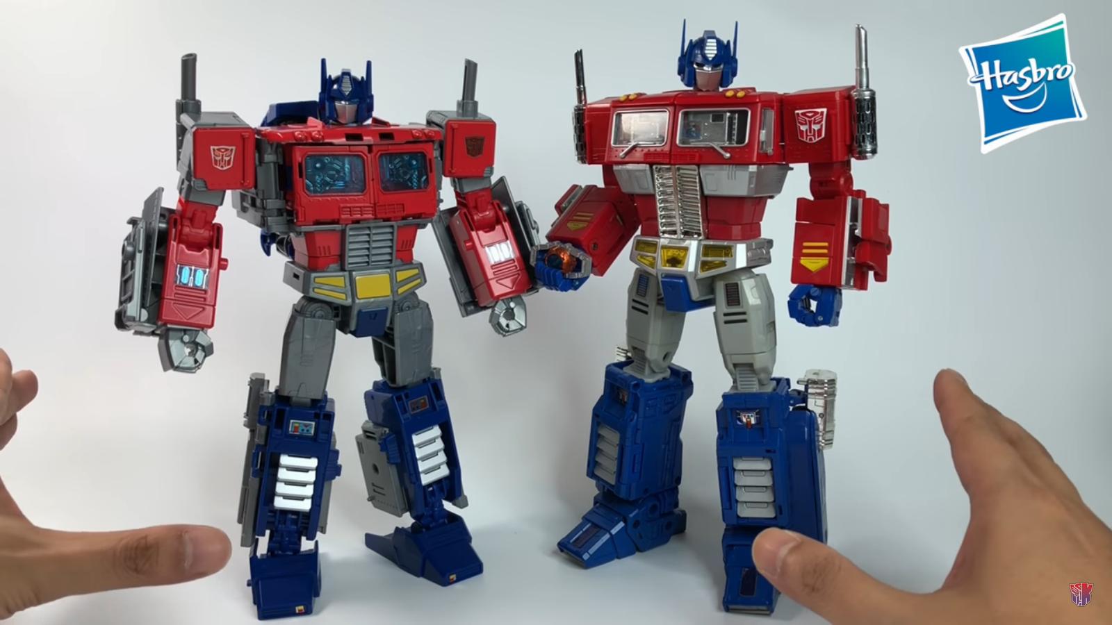 Transformers Generations Power of the Primes Leader Optimus Prime Figurine,...
