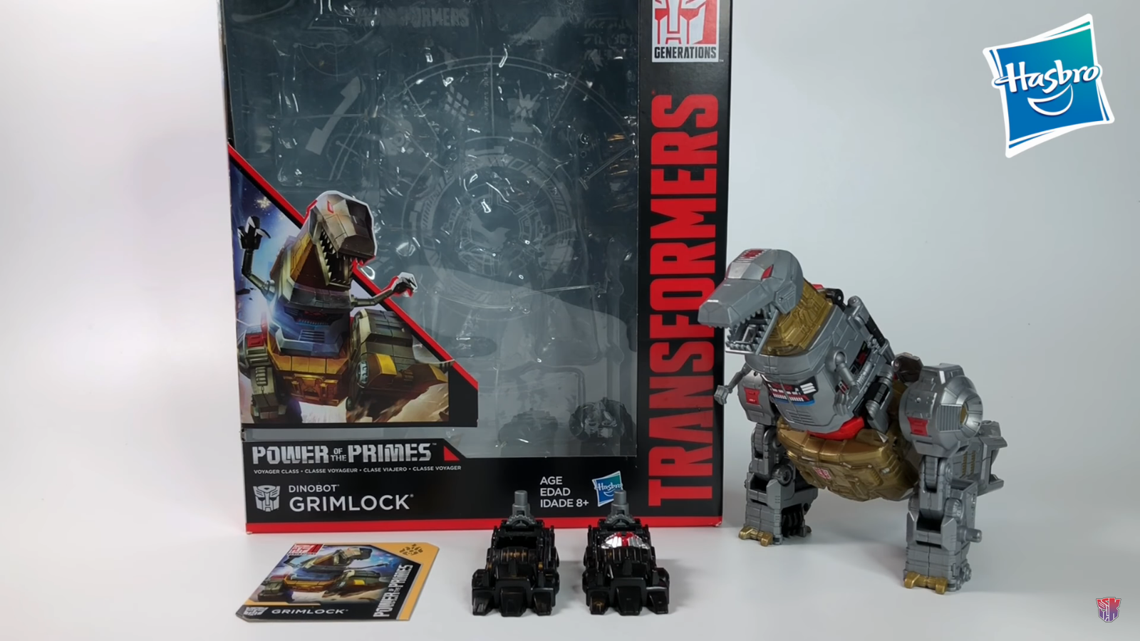 Transformers News: Video Review of Transformers Power of the Primes Voyager Grimlock