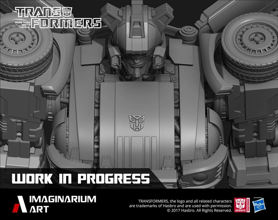 Transformers News: Imaginarium Art Jazz and Skywarp