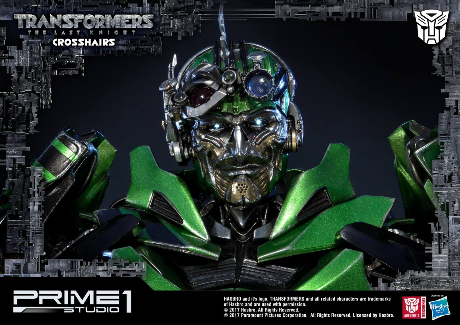 Transformers News: Prime 1 Studio MMTFM-19 Crosshairs Images
