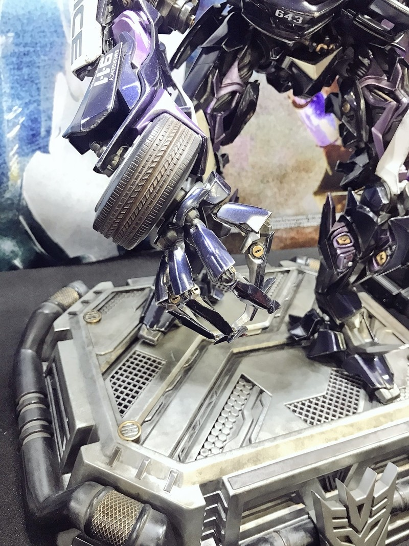 Transformers News: Prime 1 Studio Museum Masterline Barricade, Crosshairs, More at Tokyo Comic Con 2017