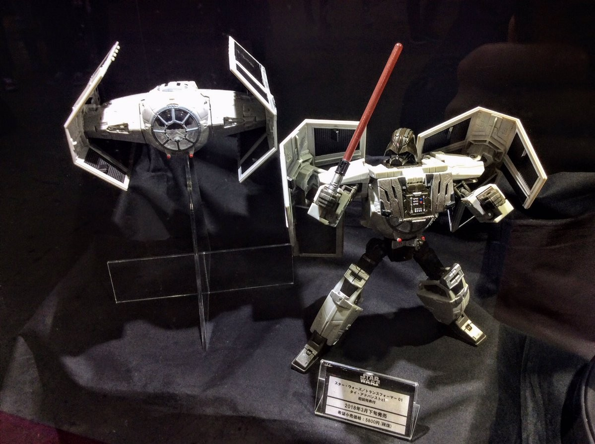 Transformers News: Takara Star Wars Powered By Transformers Millennium Falcon at Tokyo Comic Con 2017