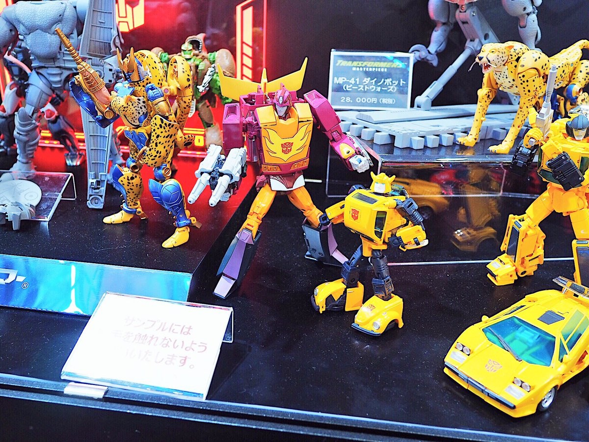 Transformers News: More Images of Takara Tomy Masterpiece MP-40 Targetmaster Hot Rodimus from Tokyo Comic Con