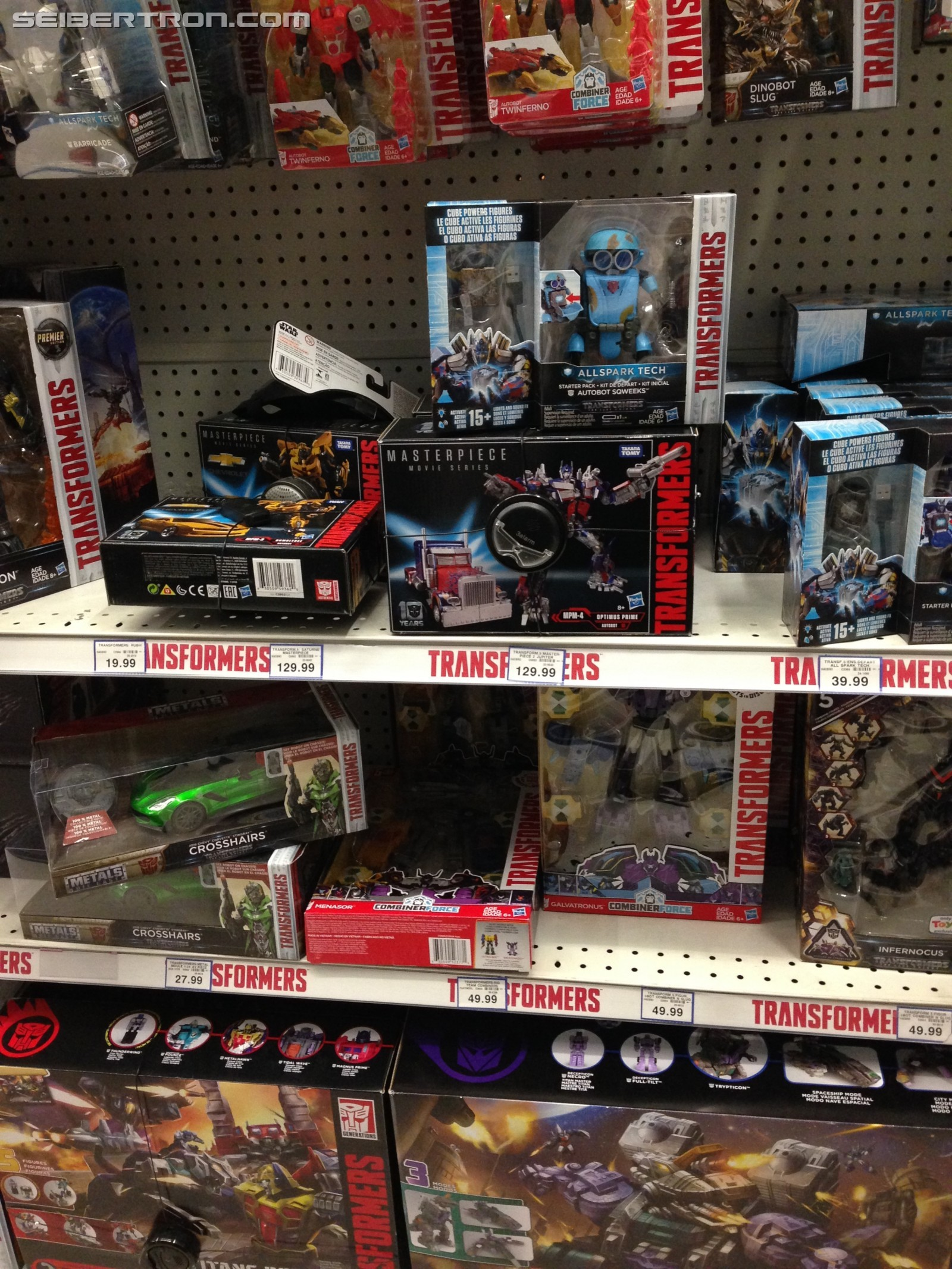 Transformers News: Transformers: The Last Knight Adventure Kit and Allspark Tech Sqweeks Found in Canada