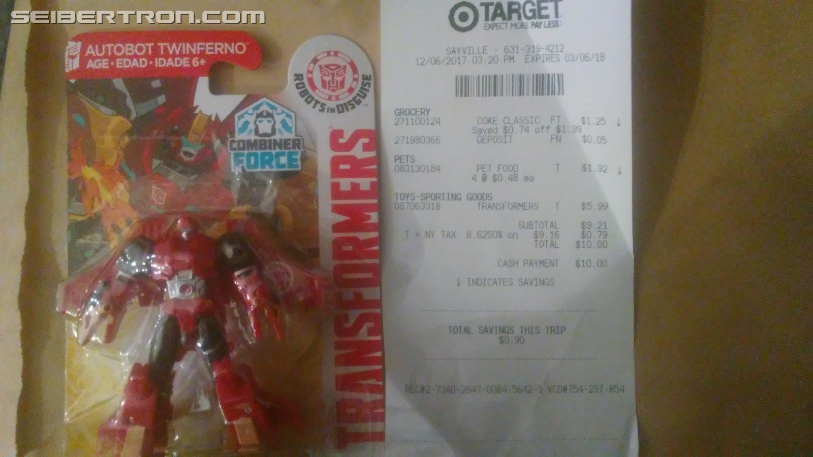 Transformers News: Transformers: Robots in Disguise Legion Twinferno Found at US Retail