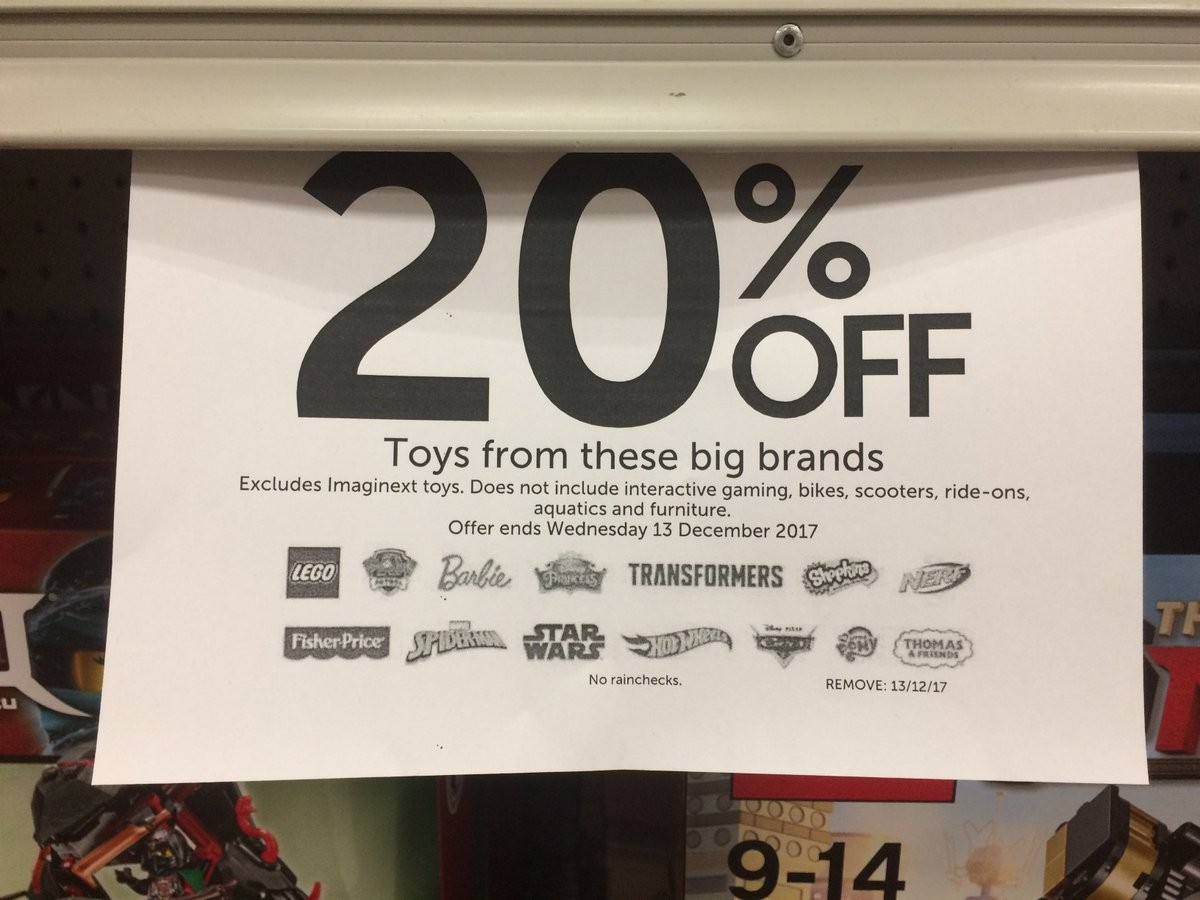 Transformers News: Target Australia 20% Off Sale Till December 13