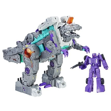 Transformers News: Steal of a Deal: Titans Return TRYPTICON currently on sale for $99.99 on Amazon
