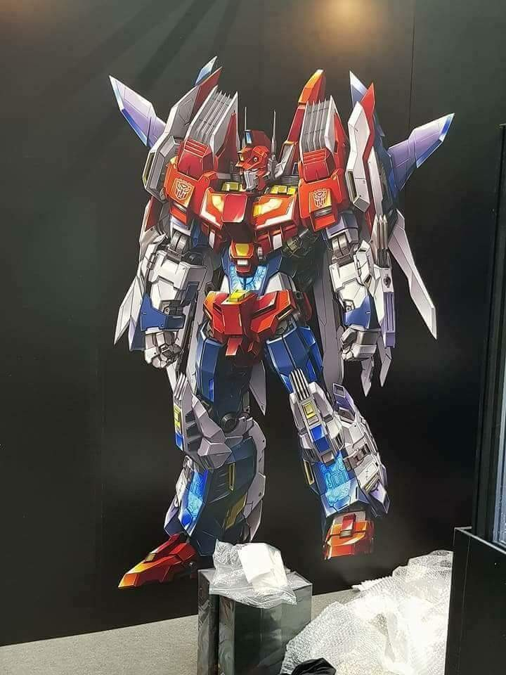 Transformers News: Flame Toys IDW Star Saber Prototype Revealed