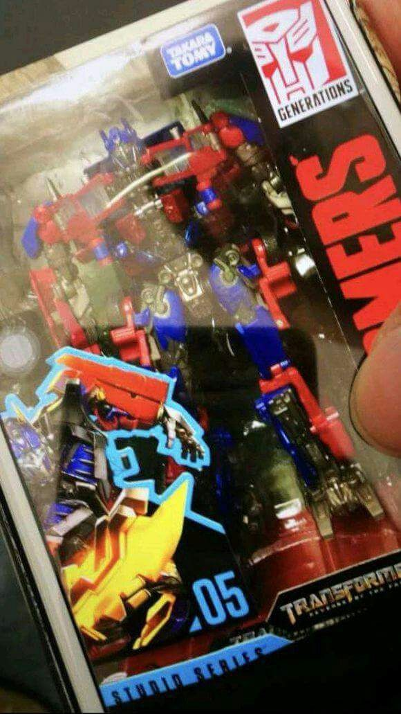Transformers News: In Package Image of Transformers Studio Series Optimus Prime with Takara Logo