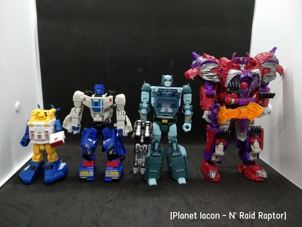 Transformers News: Transformers Power of the Primes Legend Duocon Battletrap confirmed