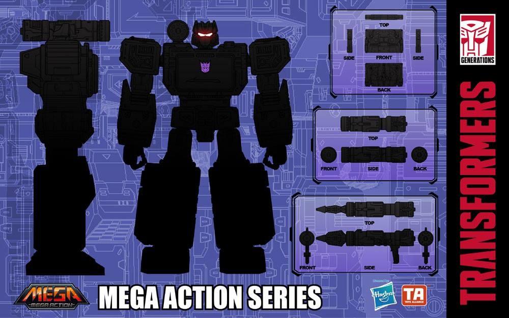Transformers News: Toys Alliance Mega Action MAS-03 - Soundwave Teased