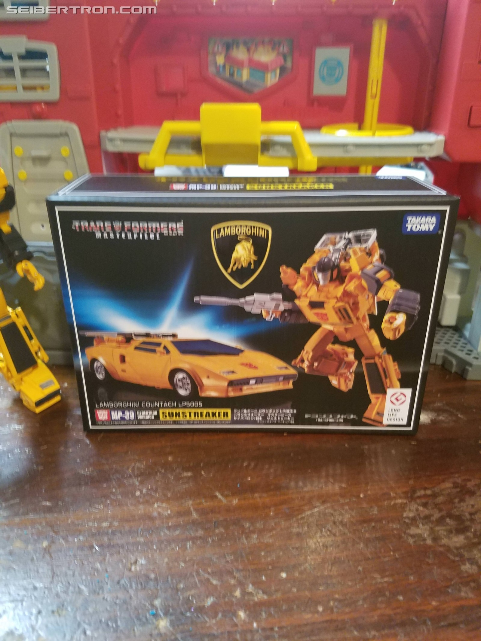 Transformers News: Pictorial Review of Takara MP-39 Masterpiece Sunstreaker