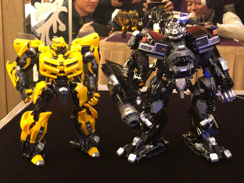 Transformers News: More Images of Newly Revealed Movie Masterpiece MPM-6 Ironhide