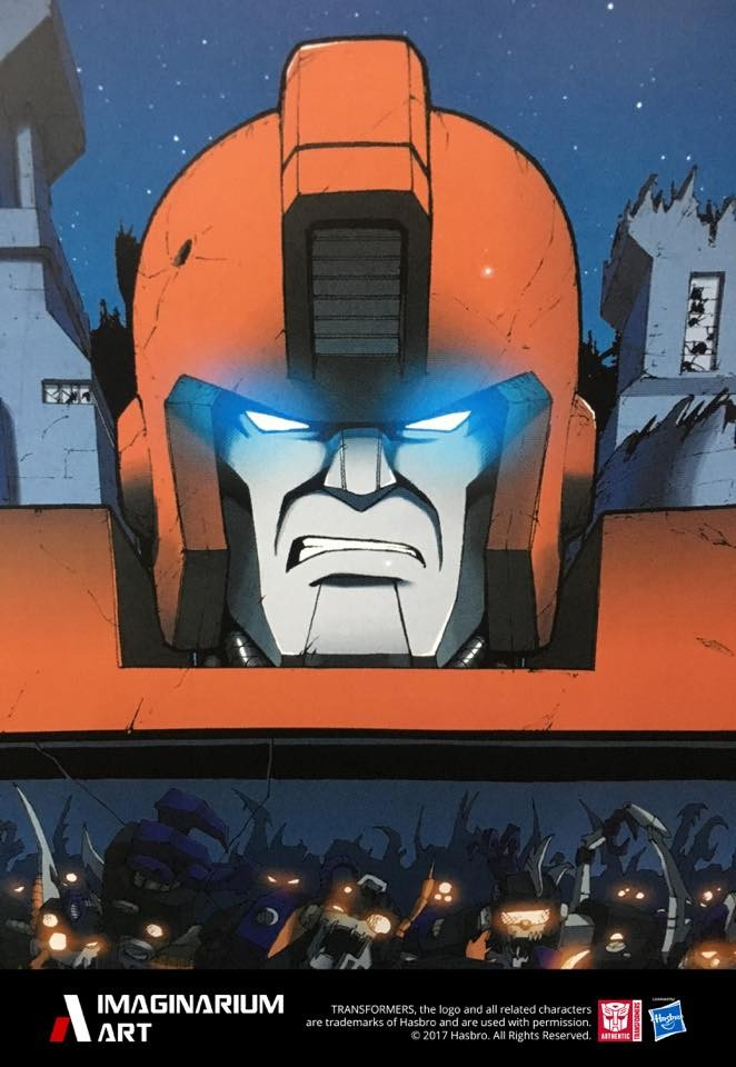 Transformers News: Imaginarium Art Teases Ironhide and Posts Production Shots of Rodimus, Devastator and Nemesis Prime