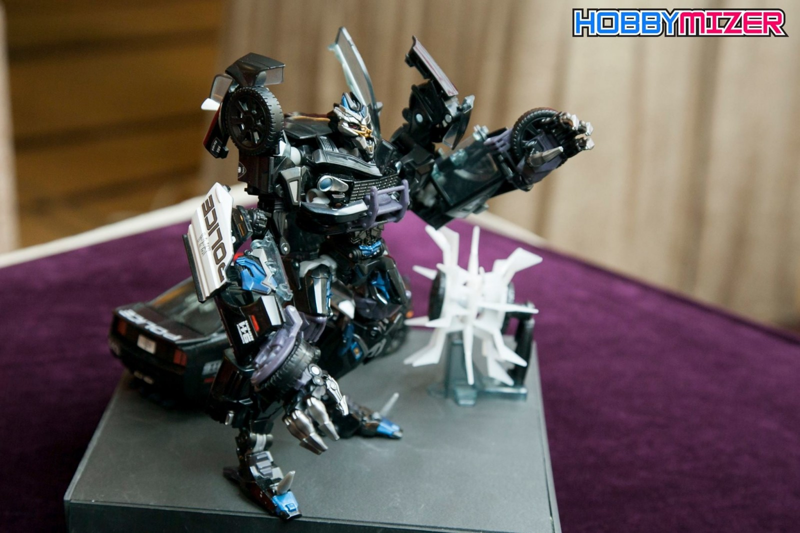 Transformers News: HD Images of Transformers Movie Masterpiece MPM-5 Barricade