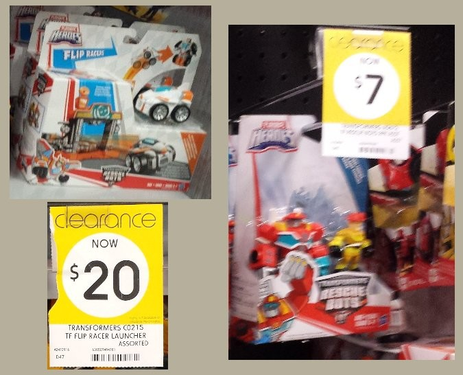Transformers News: Massive Clearance Sale on Transformers at K-Mart Australia