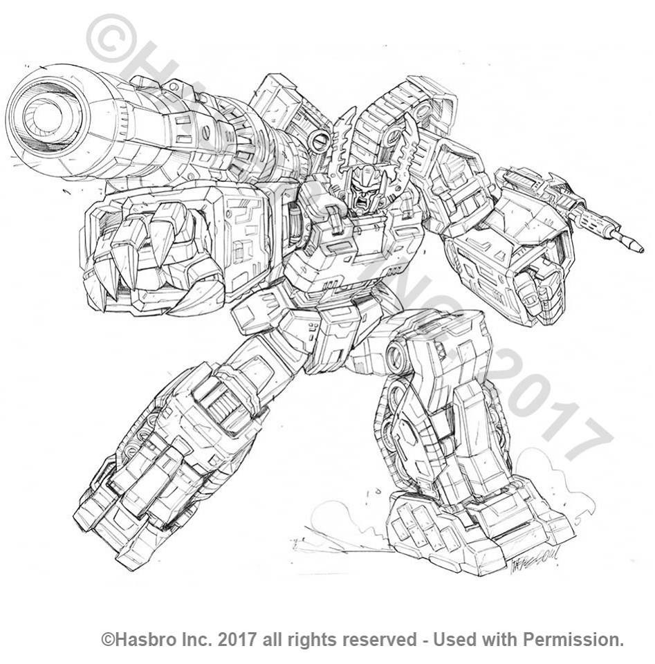 Transformers News: More Packaging Art for Transformers Combiner Wars by Marcelo Matere