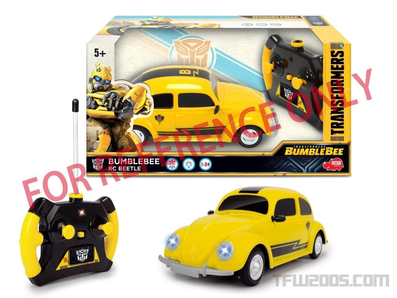 Jouets - Transformers:  Bumblebee Le Film 1516720813-transformers-bumblebee-the-movie-rc-simba