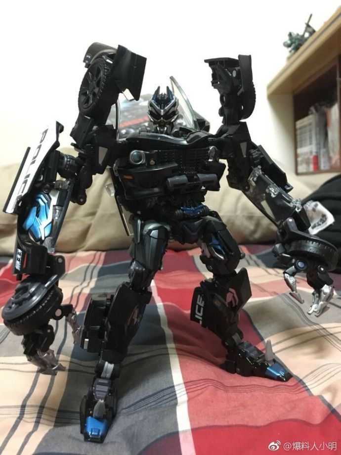 Transformers News: More In-Hand Images of Transformers Movie Masterpiece MPM-5 Barricade