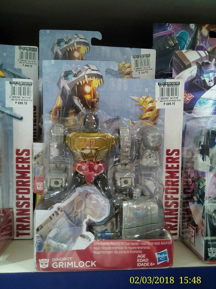 Transformers News: Transformers Authentics Bumblebee, Grimlock, Optimus Sighted at Philippines Retail