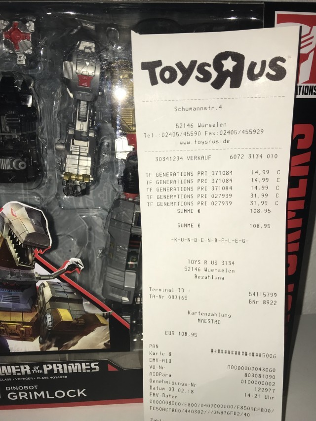 Transformers News: Transformers Power of the Primes Sighted in Germany