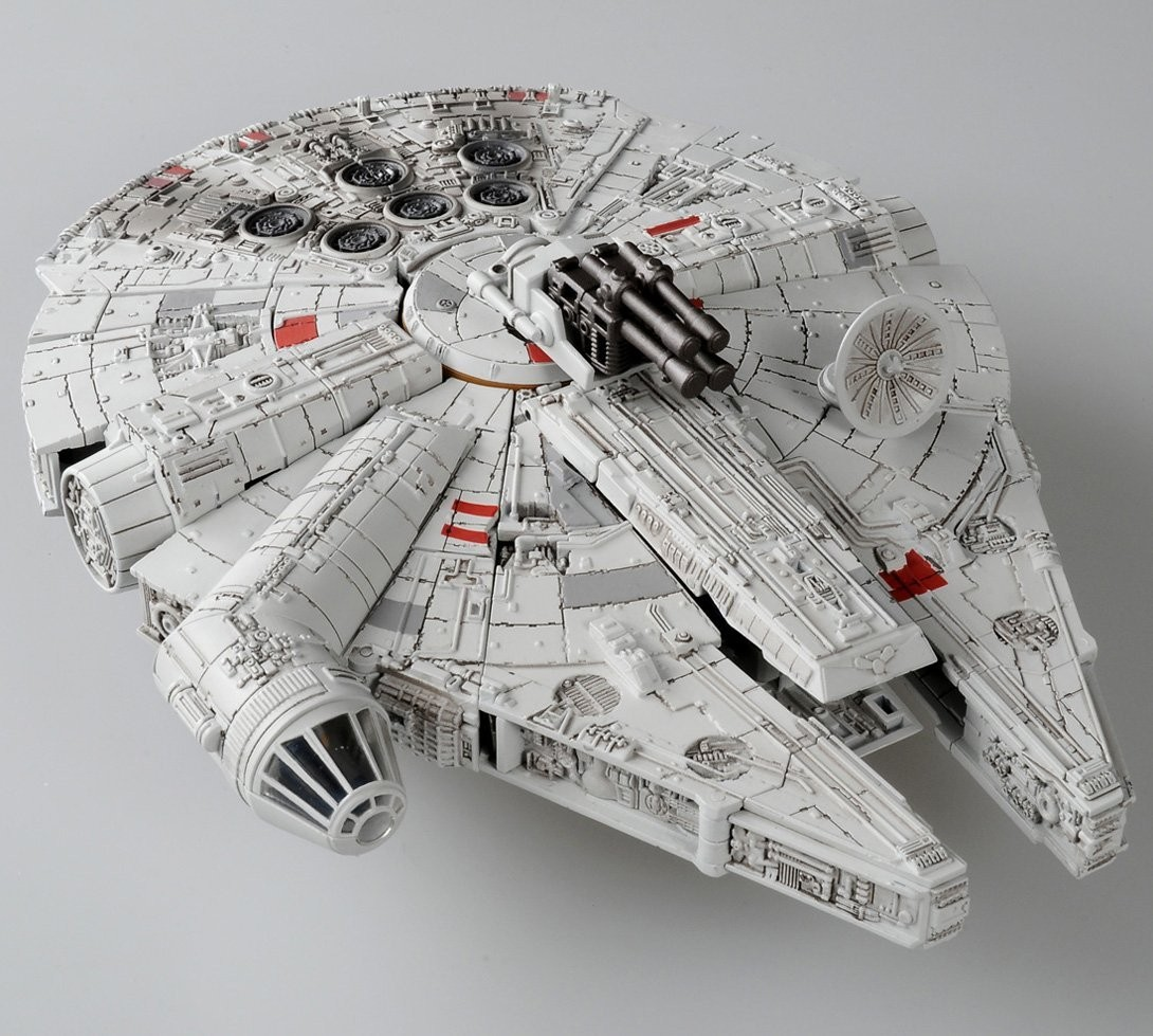 Transformers News: More Images of Takara Star Wars Powered By Transformers 02 Millennium Falcon