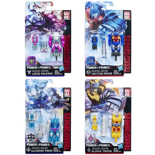 Transformers News: Case Breakdowns for Wave 2 of Transformers Power of the Primes