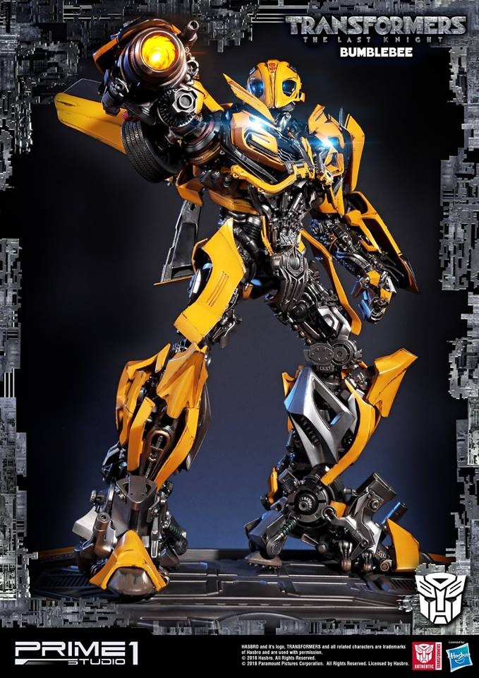 Transformers News: Prime 1 Studio Museum Masterline MMTFM-20 Bumblebee (The Last Knight)