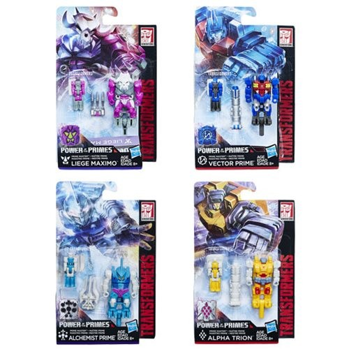 Transformers News: Transformers Power of the Primes Wave 2 Prime Masters In Stock at Entertainment Earth