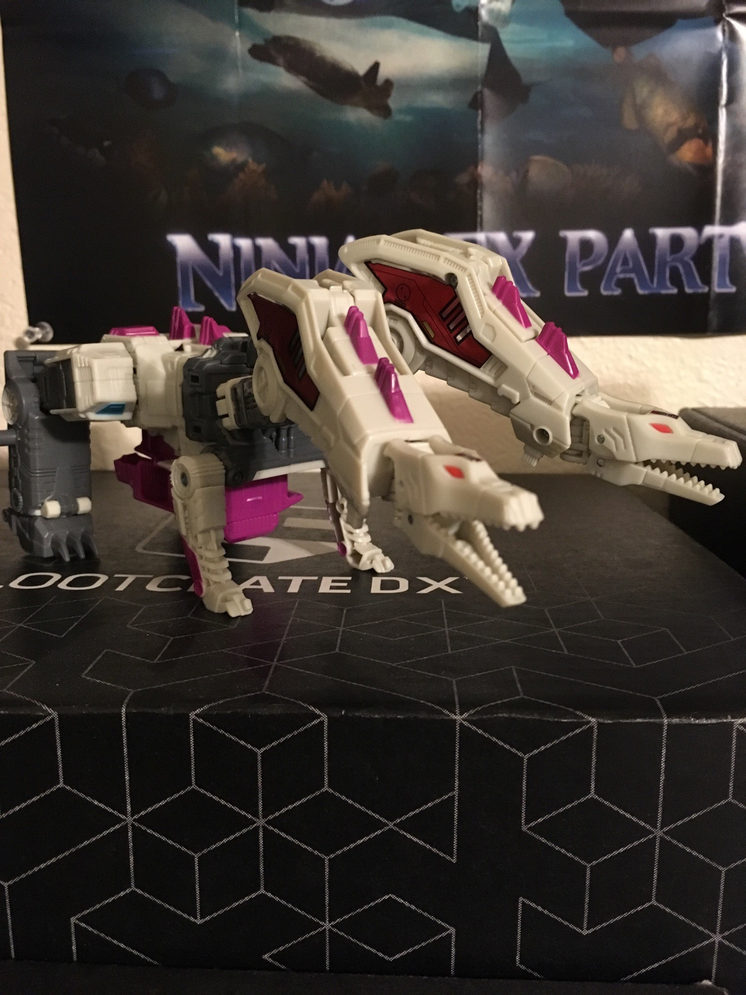 Transformers News: In Hand Images of Hun-Gurr from Power of the Primes with First Look at Torso Mode