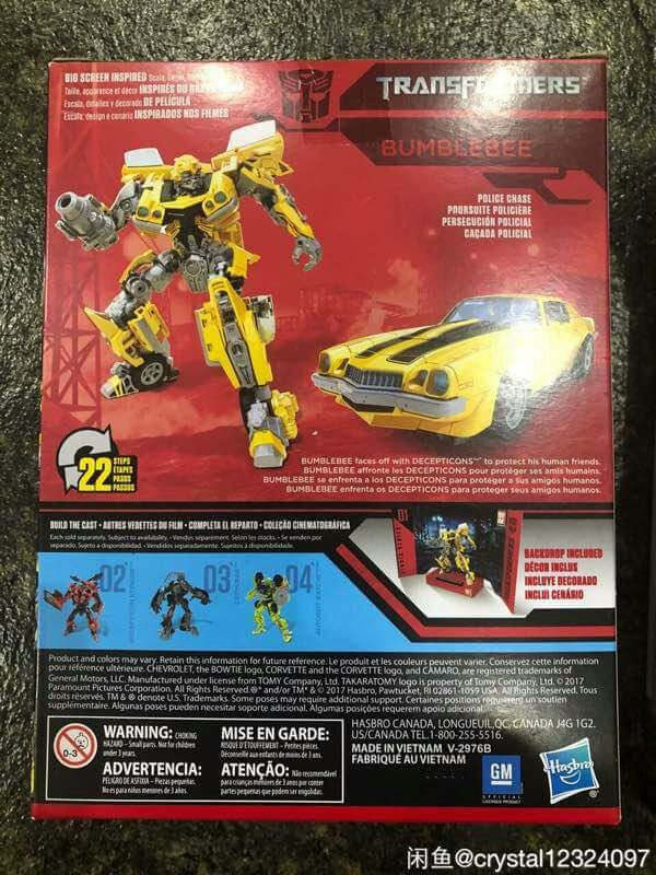 Transformers News: Transformers Studio Series Wave 1 Deluxe Bumblebee Revealed