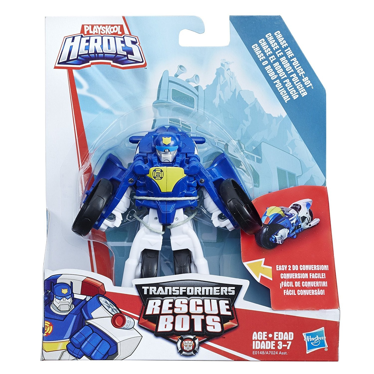 Transformers News: New Motorcycle Chase and Cement Mixer Salvage Toys from Rescue Bots