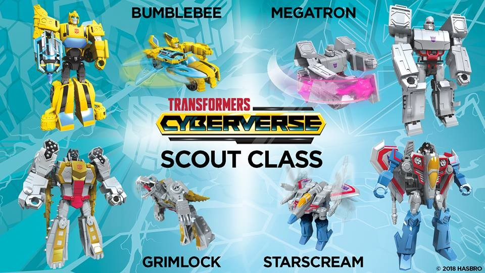 Transformers News: New Transformers Cyberverse Reveals with Warrior Bumblebee and Optimus, Ultra Starscream and More!