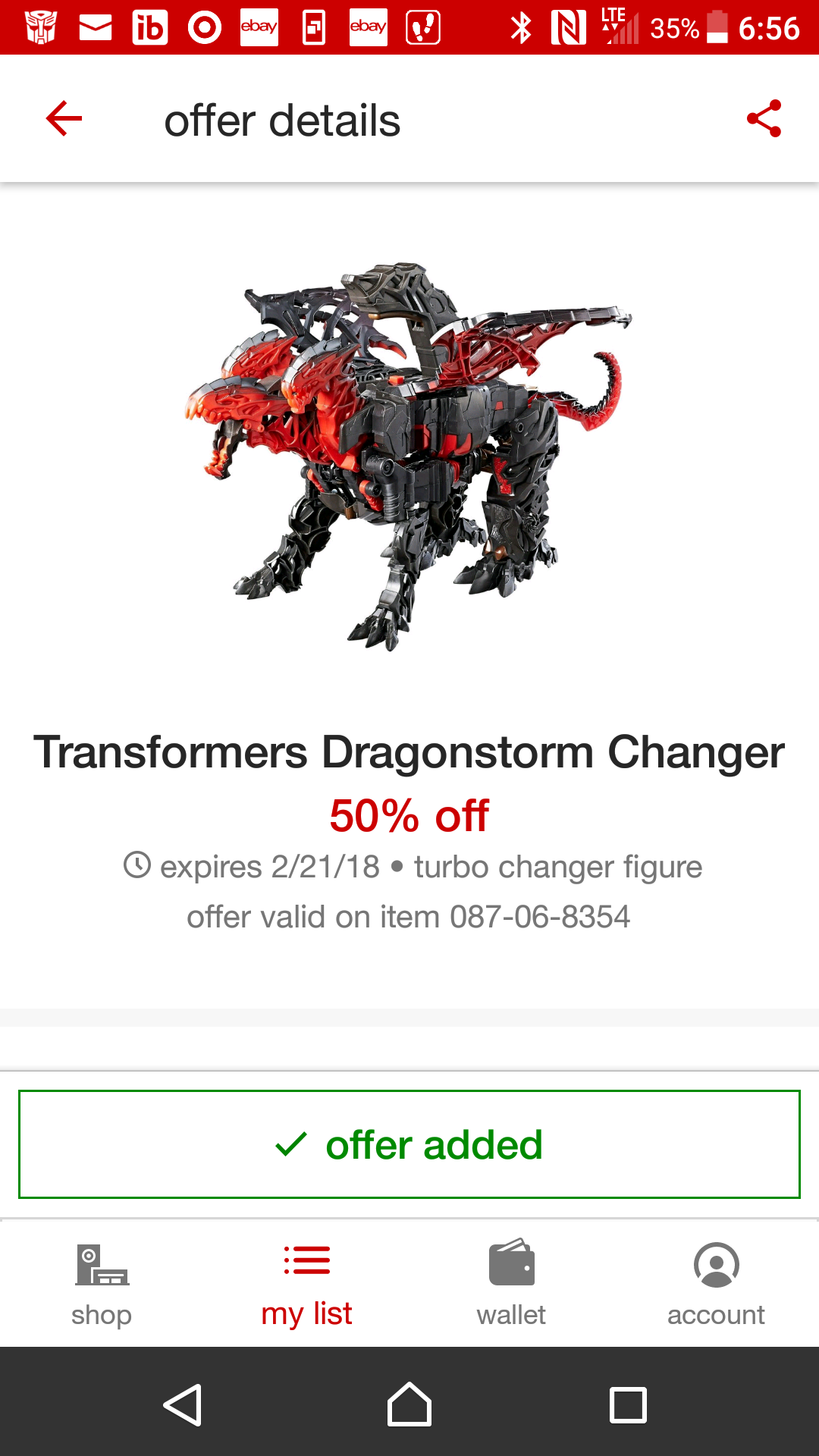 Transformers News: Target 50% Discount on Transformers: The Last Knight Dragonstorm and RC Sqweeks