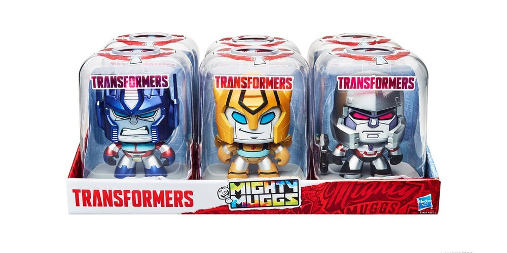 Transformers News: Transformers Mighty Muggs Returns #HasbroToyFair #TFNY